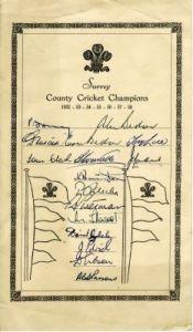 Surrey CCC  c.1959