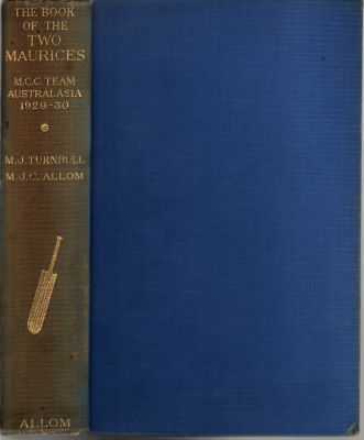 Turnbull, M & Allom, M: The Book of the Two Maurices