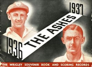 The Ashes 1936-1937