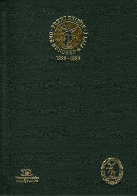 Wynn-Thomas, P: Trent Bridge 1838-1988