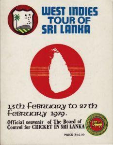 West Indies to Sri Lanka 1979