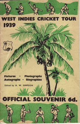 West Indies to UK 1939