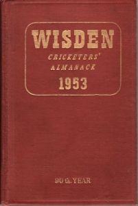 Wisden 1953