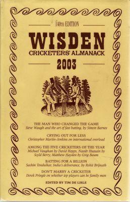 Wisden 2003