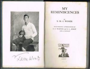 Woods SMJ - My Reminiscences
