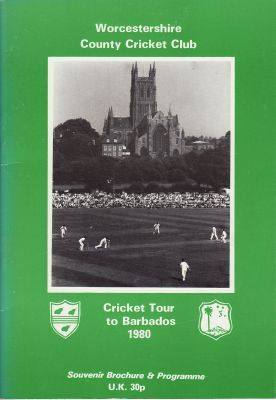 Worcestershire CCC to Barbados 1980