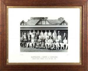 Australians v North of Scotland, 1934