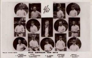 MCC to Australia 1907-08