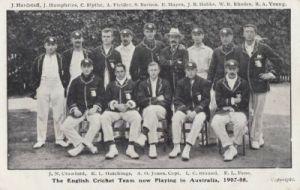 England in Australia 1907-08