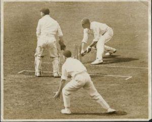 Hammond, England v South Africa, The Oval 1929