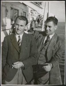 MCC to Australia 1946/47 Hardstaff & Voce