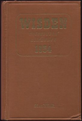 Wisden 1954