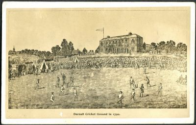 Darnall Cricket Ground in 1790
