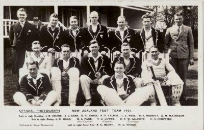 New Zealanders 1931