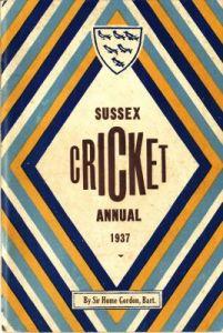 Sussex Annual 1937