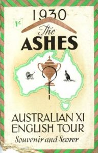 The Ashes 1930