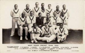 West Indians 1933